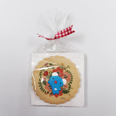 ダイカットクッキー(フラワー、ありがとう)
