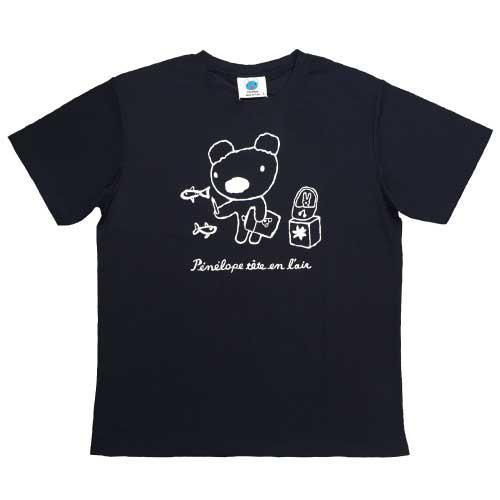 吸汗速乾ペネロペプリント半袖Tシャツ-A 商品画像