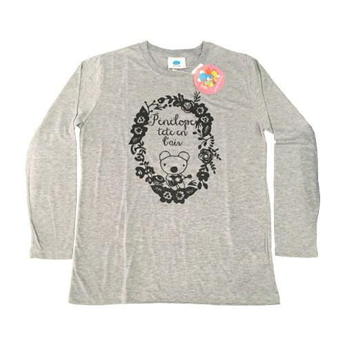 天竺ペネロペプリント長袖Tシャツ-A 商品画像