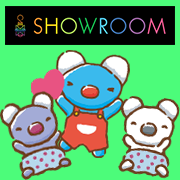 【SHOWROOM】手描きペネロペ アバター追加!